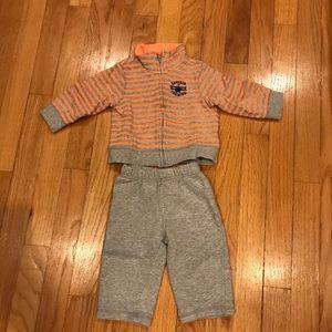 9 months sweat suit